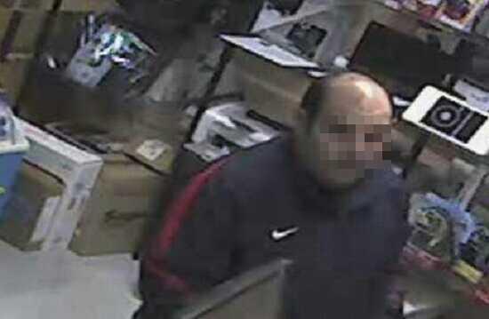 Imagen que captó la cámara de seguridad del establecimiento