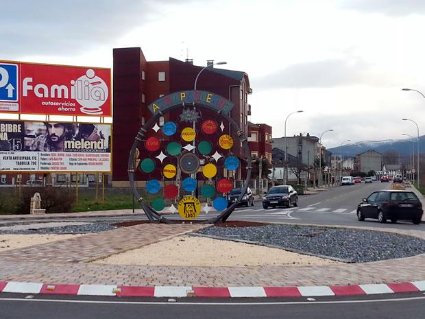 Emplazamiento donde se ubicará la escultura de Álvaro Yáñez y Beatriz Osorio