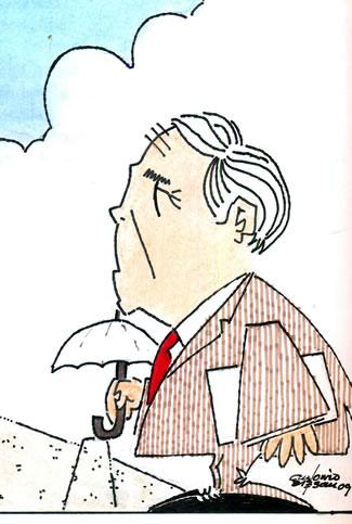 Manuel Rodríguez Rodríguez (caricatura de Antonio Esteban)