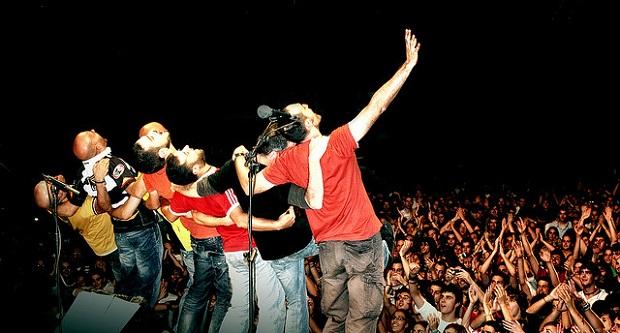 En la imagen, los Celtas Cortos durante una de sus actuaciones / Flickr Celtas Cortos