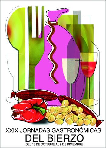 Cartel de las XXIX jornadas gastronómicas