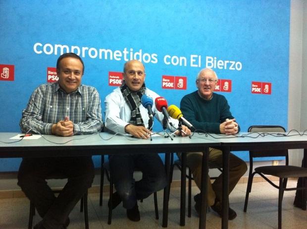 Foto de archivo de una rueda de prensa del PSOE