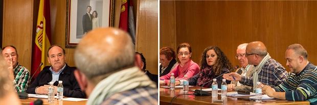 Foto de archivo: momento de una sesión que recoge el debate entre Rey y Oter