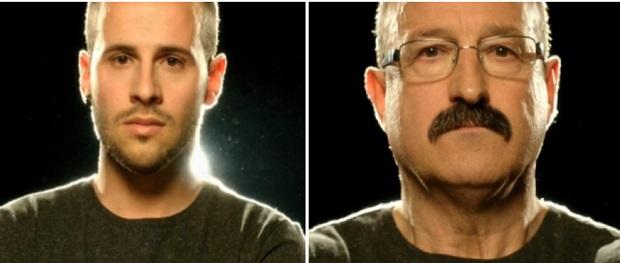 Ángel (I) y José Antonio (D) / Imágenes de la promoción del programa Pekín Express