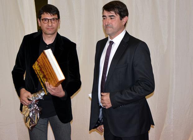 Gabriel Folgado (I) y José Antonio García (D) en una imagen de archivo