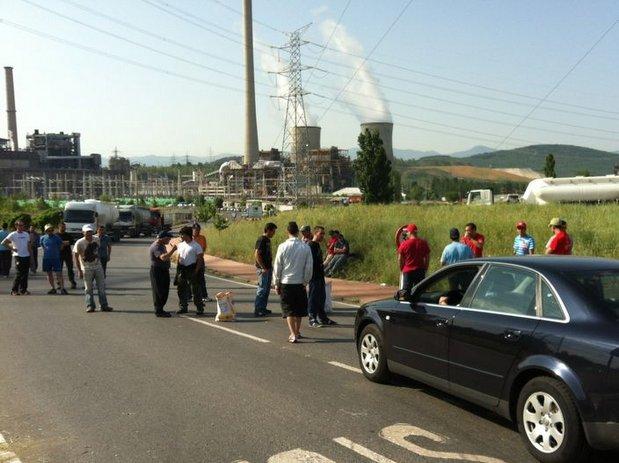 Foto: Archivo / Protestas a las puertas de Compostilla