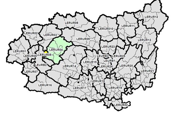 Mapa Del Bierzo Leon.Ultimo Paso En El Nuevo Mapa Territorial Que Delimita El Bierzo Alto Con Seis Municipios Sin Congosto