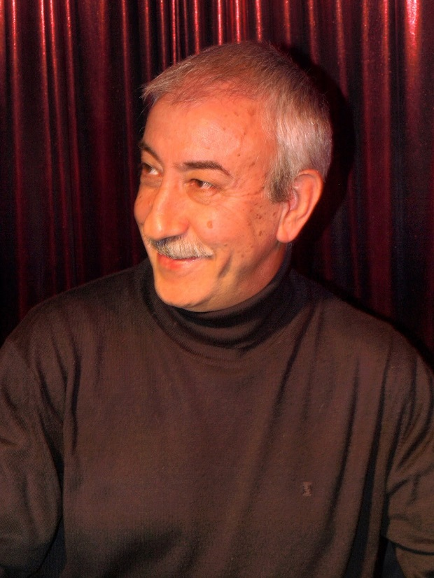 Epigmenio Rodríguez en el Gran Café de León / Foto: Manuel Cuenya