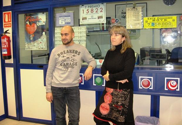 Encarna Gutiérrez y Fernando Merayo, en foto de archivo del pasado mes de febrero