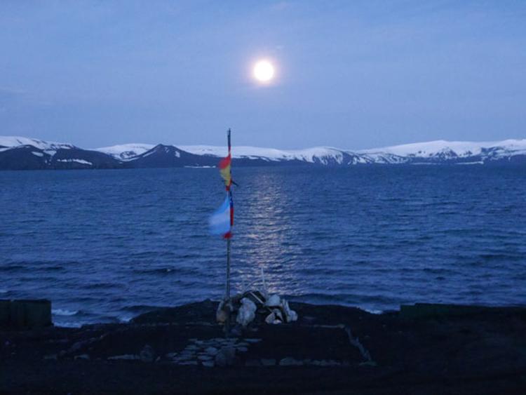 1 Luna llena en Isla Decepc