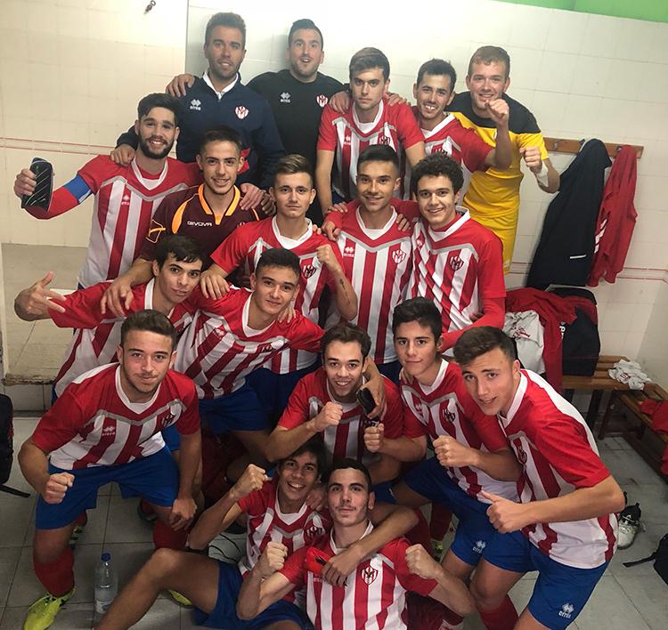El juvenil le dedica la victoria (0-3) ante al Victoria de Valladolid, a Fernando Ministro