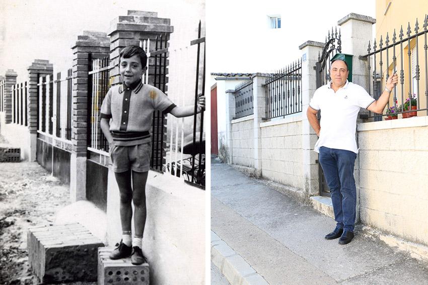 Carlos 50 years apart