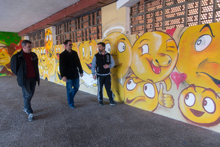 Grafitero Kolone Menéndez Pidal Bembibre