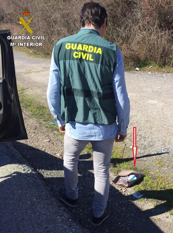 recuperacion bolso guardia civil bembibre marzo 2019