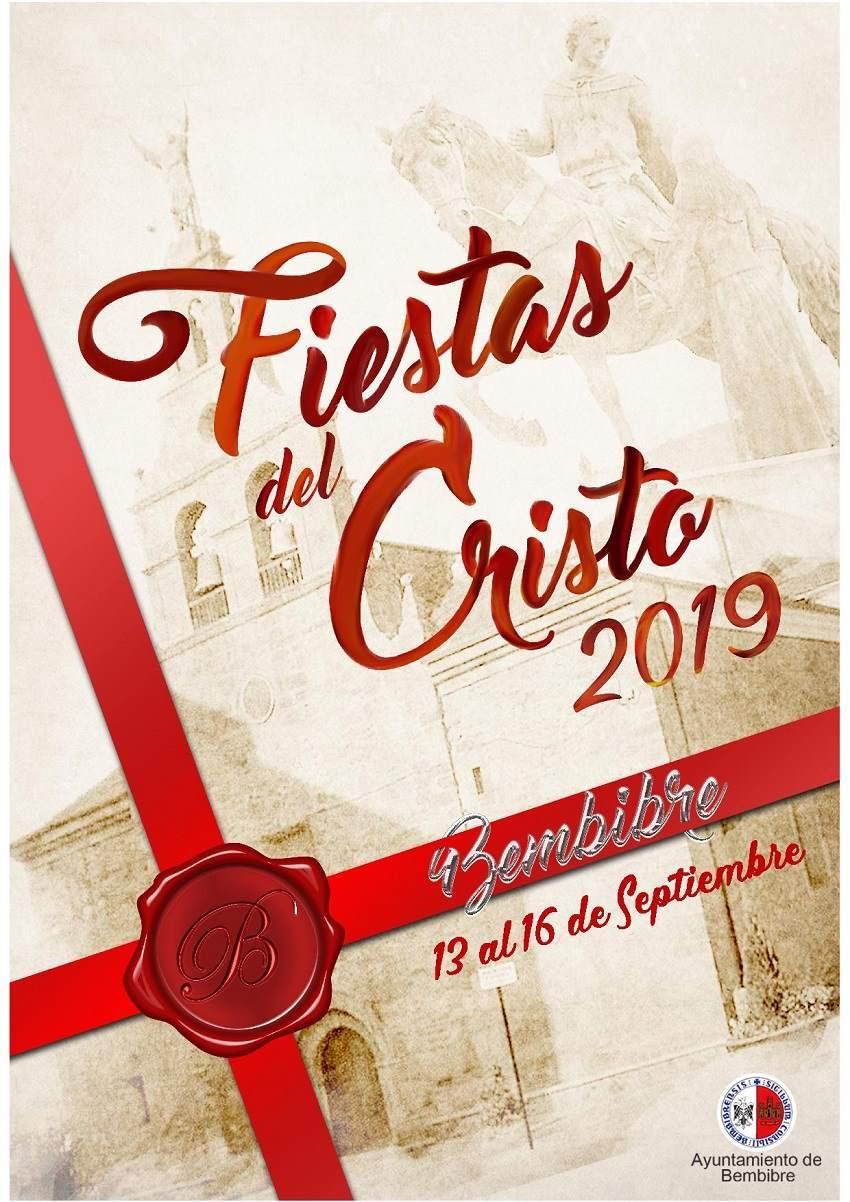 cartel fiestas cristo 2019 Bembibre