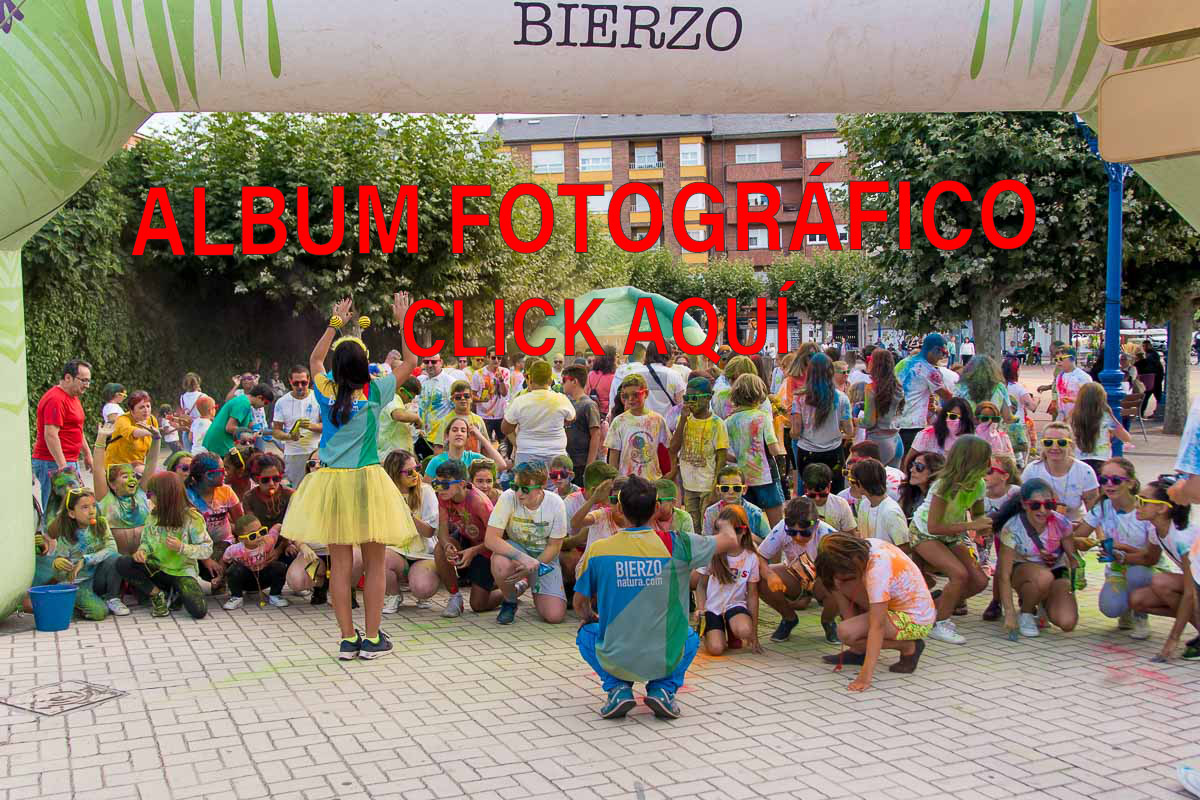 Gymcana de color Bembibre Álbum