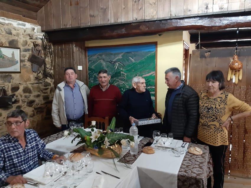 Noceda del Bierzo centenario José González