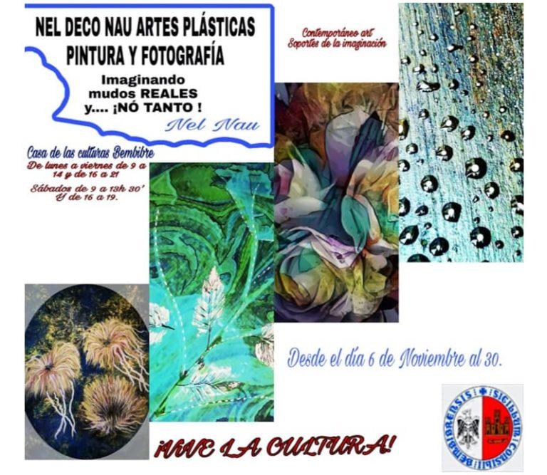 Cartel exposición Neli Cabaleiro Bembibre noviembre 2019