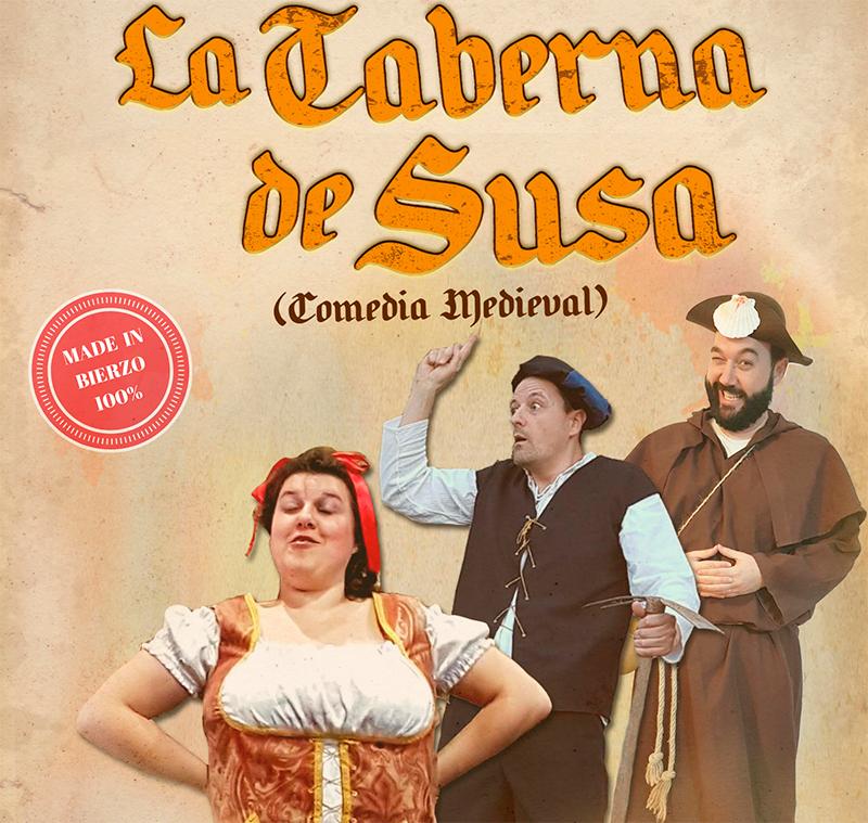 """Dinamia Teatro presenta la comedia """"La Taberna de Susa"""" en el teatro Benevivere - Bembibre Digital"""