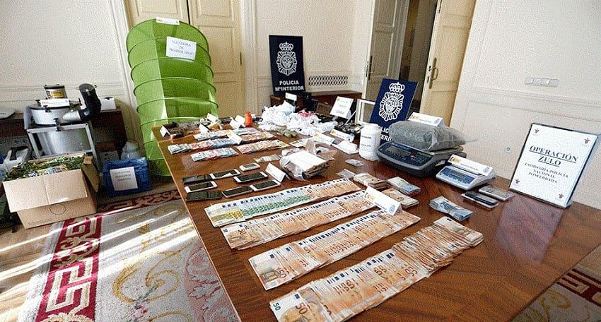 Tráfico de drogas Bembibre operación Zulo